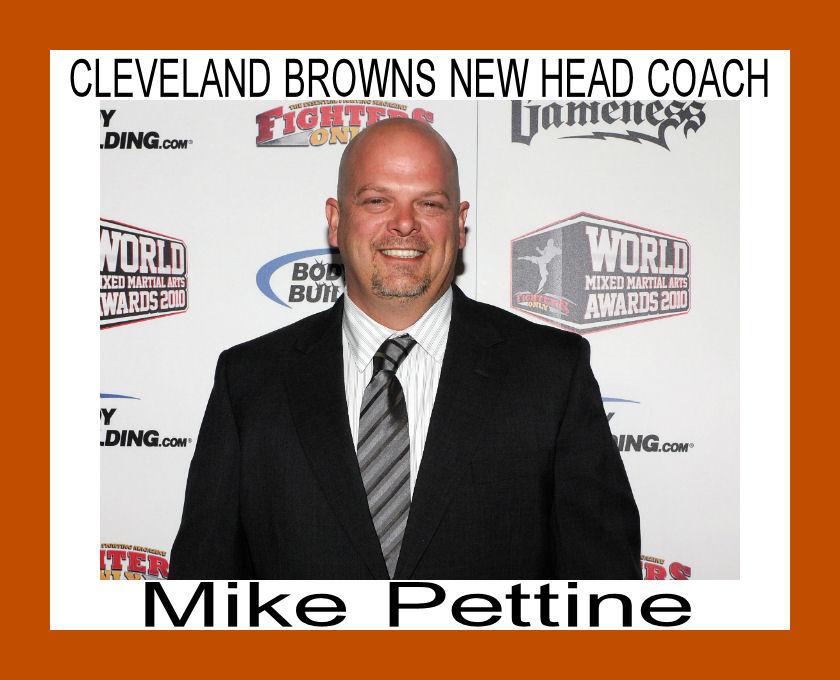 Cleveland Browns new Head Coach - Picture   eBaum's World