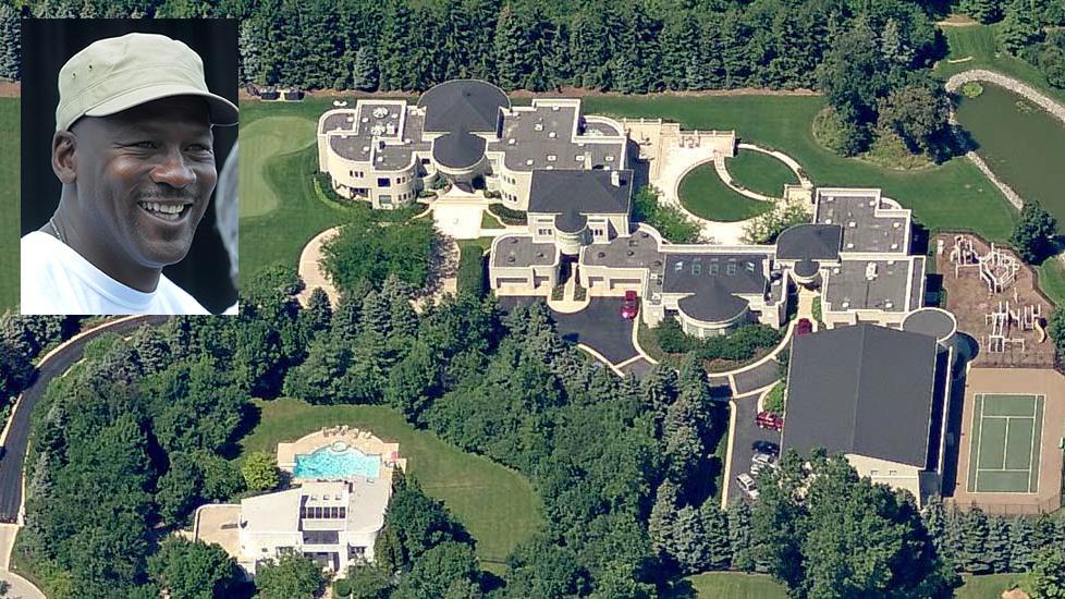 Michael Jordans Mansion For Sale At Half Price
