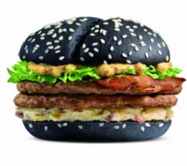 Burger King Reveals New Red Burger Gallery EBaums World - Black hamburger