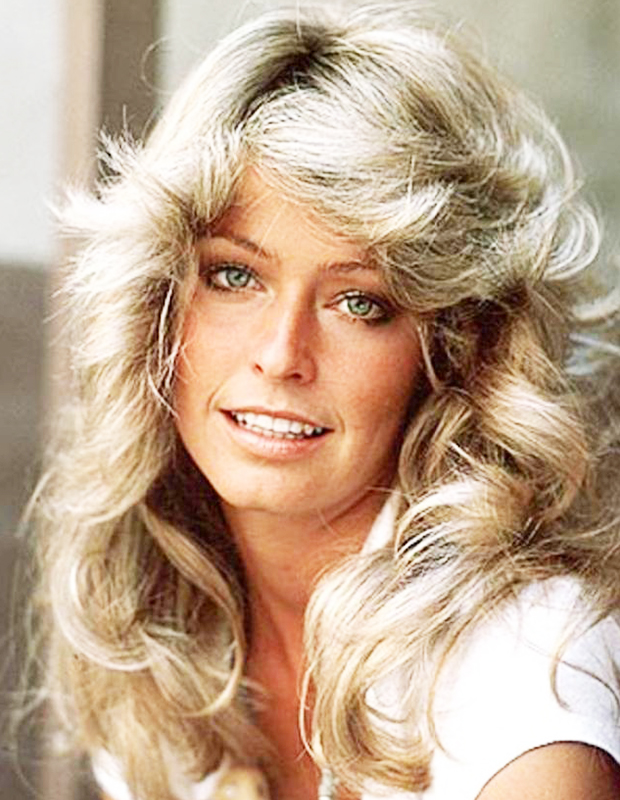70s 80s 90s Hair Style