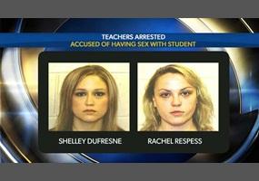 Arrested Tie students teacher