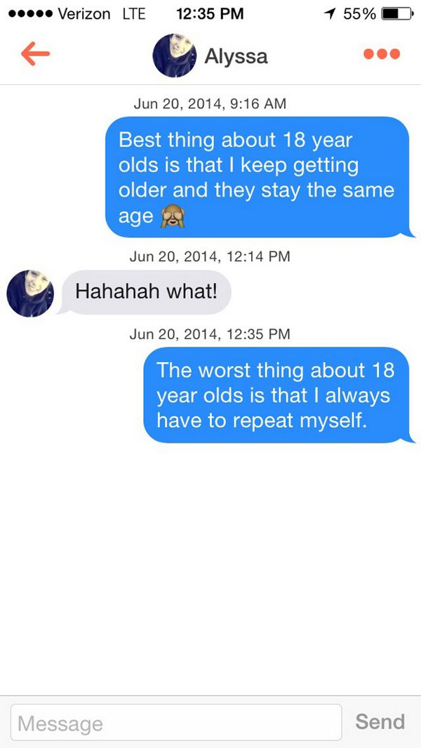 Funniest Tinder Conversations Ever Funny Gallery EBaums World - 29 stupidest things happen 2014