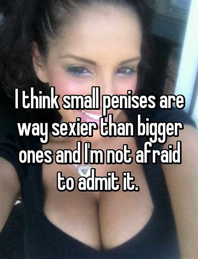 women and small penis