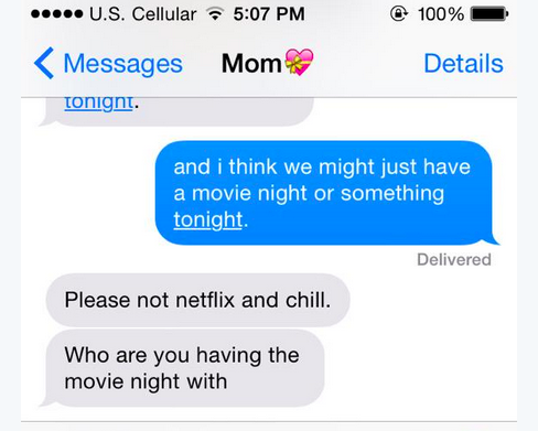 29 Freaking Funny Netflix And Chill Photos To Support Gallery