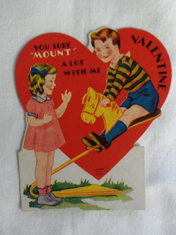 19 Creepy Vintage Valentines Day Cards Creepy Gallery – Vintage Valentines Card