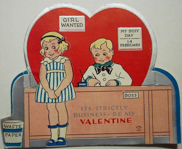 19   19 Creepy Vintage Valentineu0027s Day Cards!