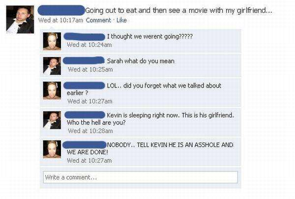 Proofs That Cheaters Are Stupid People Facepalm Gallery - 25 cheaters busted in the best way ever
