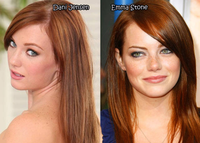 12 38 Celebrities And Their Porn Star Dopplegangers