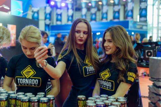 13 - Russian Gaming Festival Has Some Pretty Hot Gamer Girls