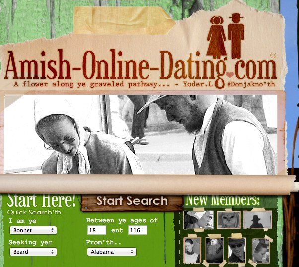Dating an amish girl