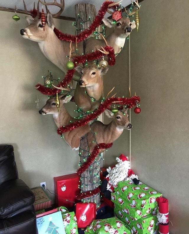 Redneck Christmas Tree