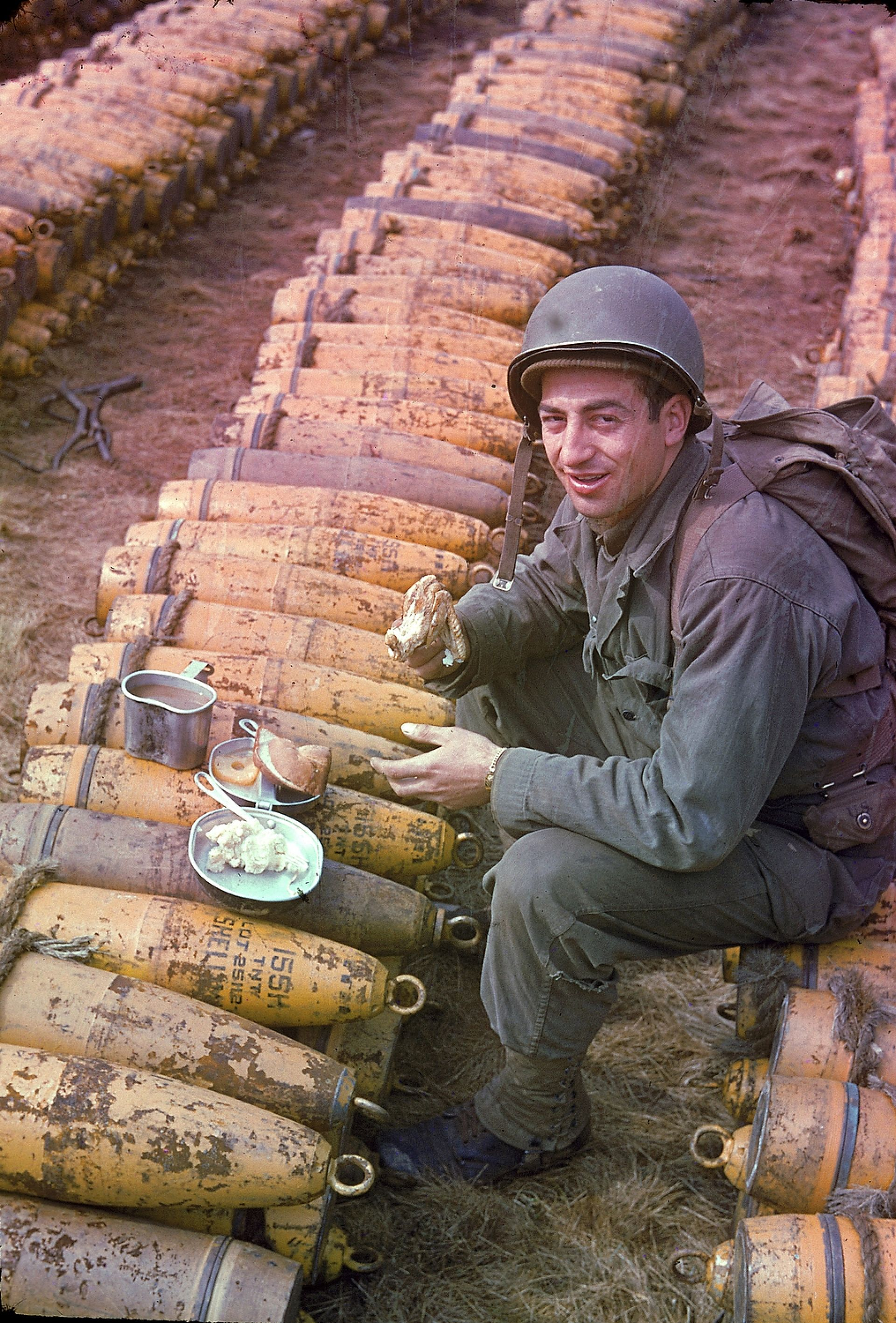 27 Rare Color Photos From WWII - People & Lifestyle