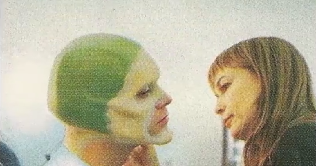 Photos Of Jim Carrey In Makeup Chair For The Mask 1994