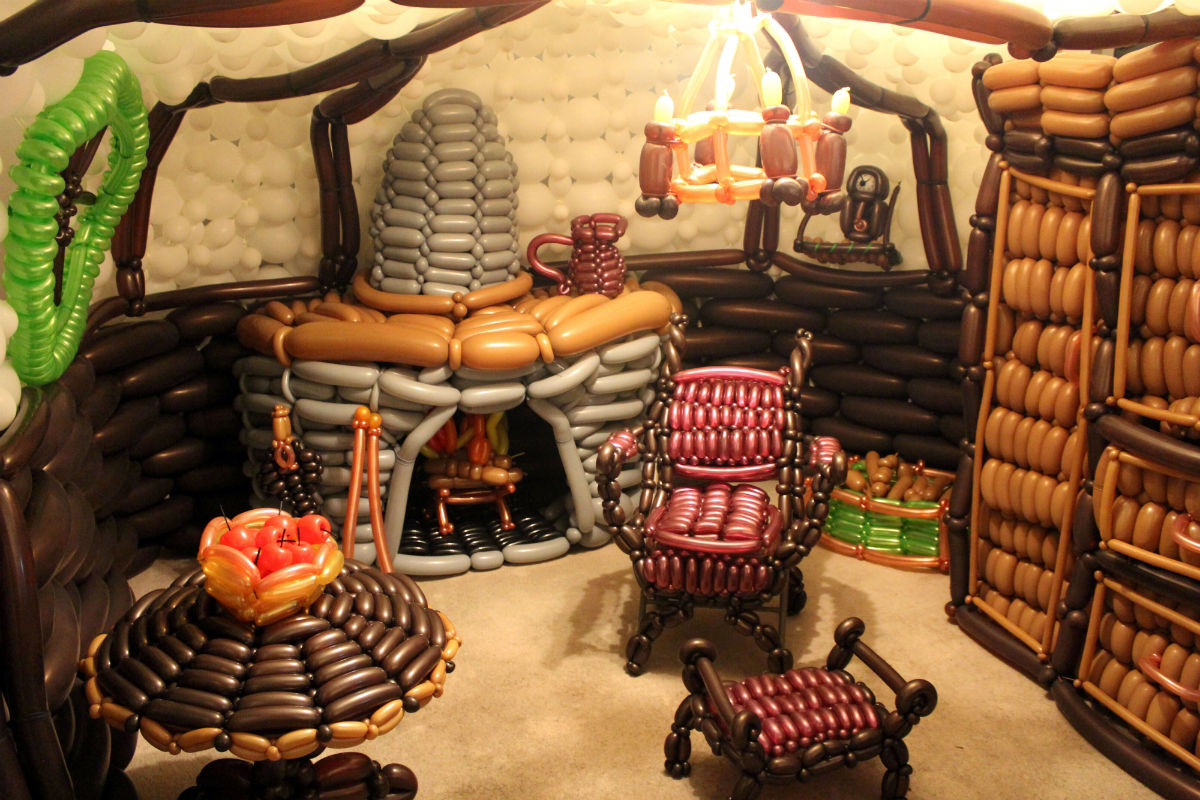 Incredible Examples Of Balloon Art Gallery EBaums World - 20 incredible examples of shadow art