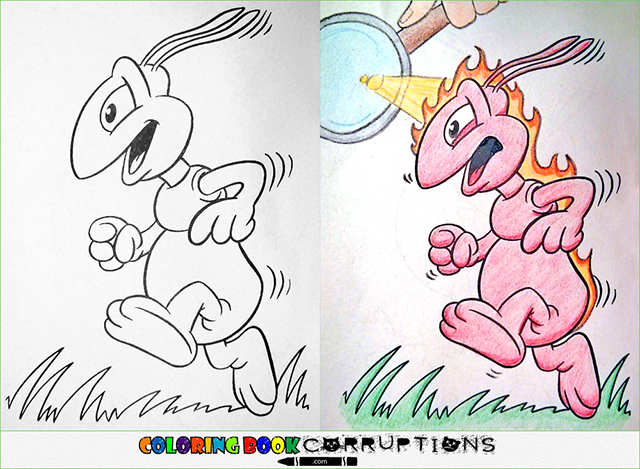 Coloring Book Corruption - Funny Gallery | eBaum\'s World