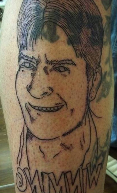Charlie sheen tattoos gallery ebaum 39 s world for Charlie s tattoo