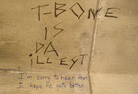 Bathroom Graffiti funny bathroom stall graffiti - gallery | ebaum's world