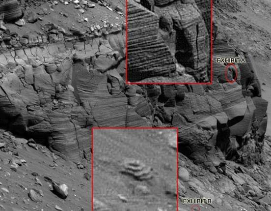 New NASA pic of what looks like old ruins on Mars | Metabunk
