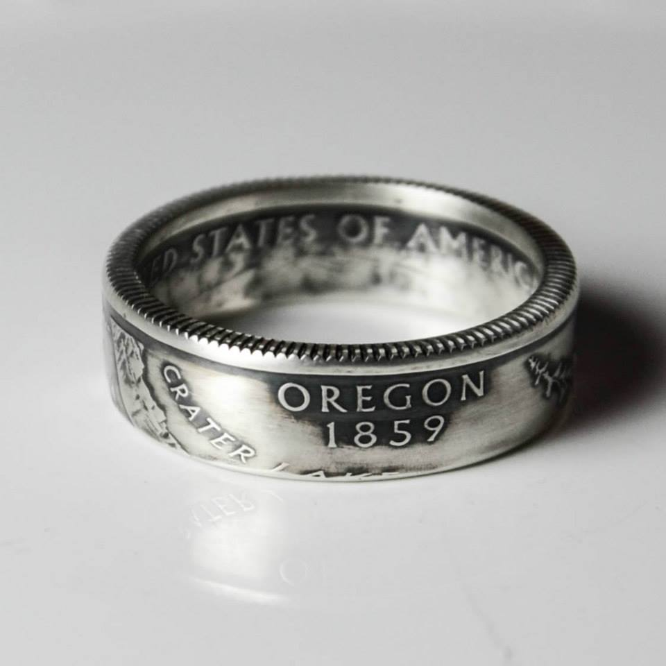 how to turn a coin into a ring