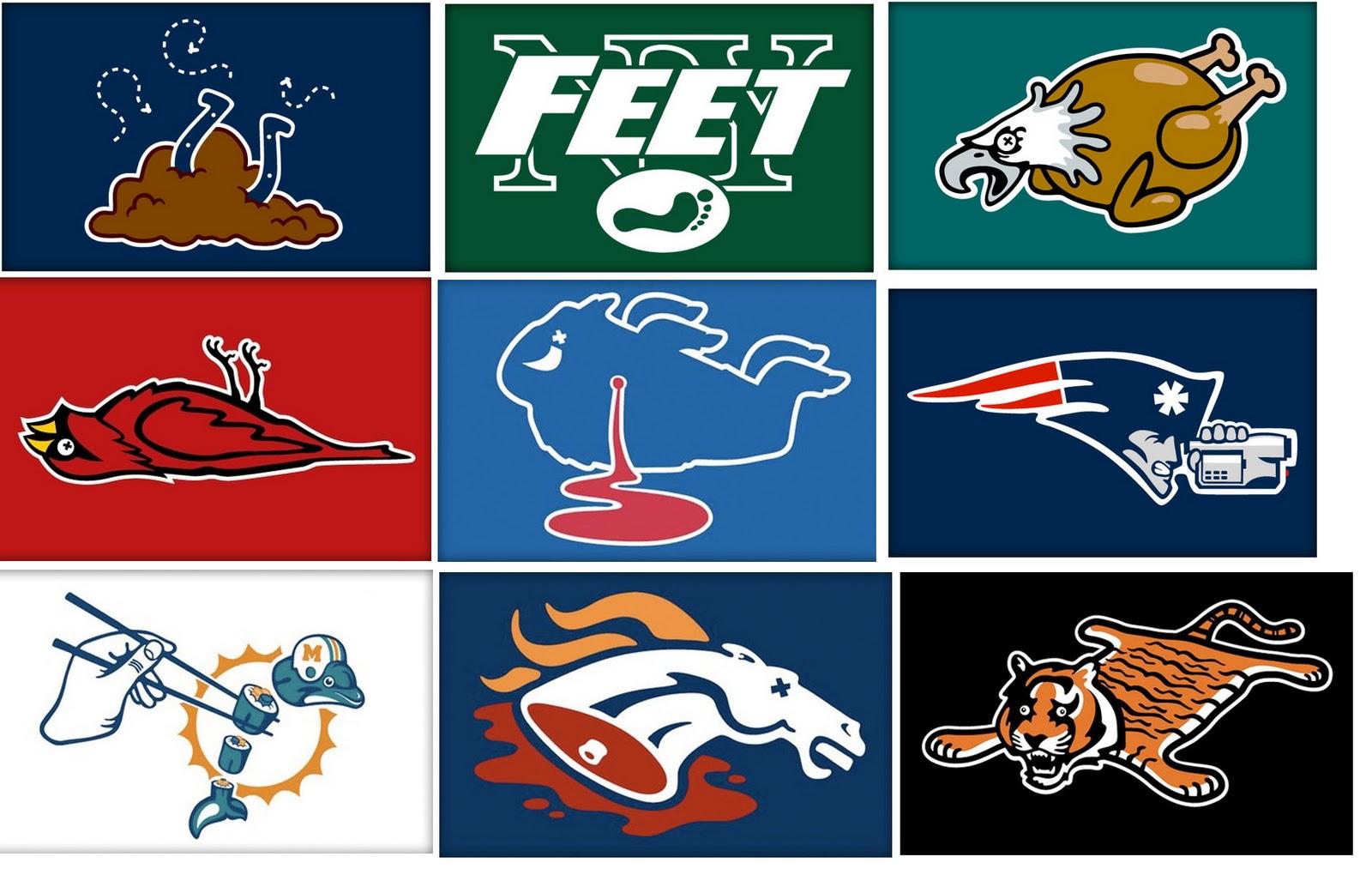 funny football logos gallery ebaums world