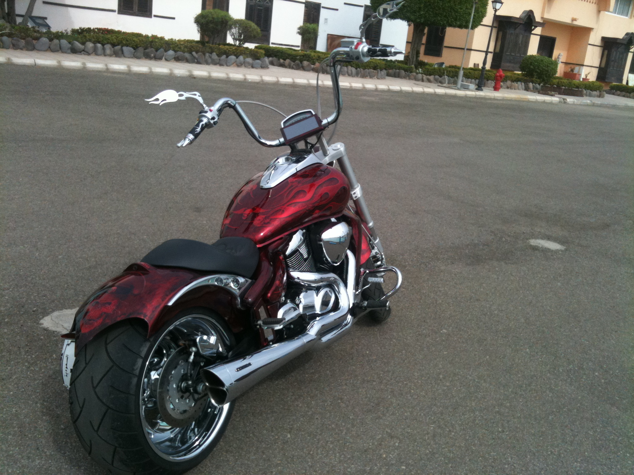 LETS SEE THE CUSTOM PAINT JOBS ON YOUR DYNAs - Page 3