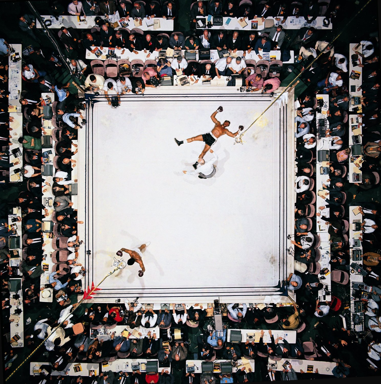 Muhammad Ali  Cleveland Fight.