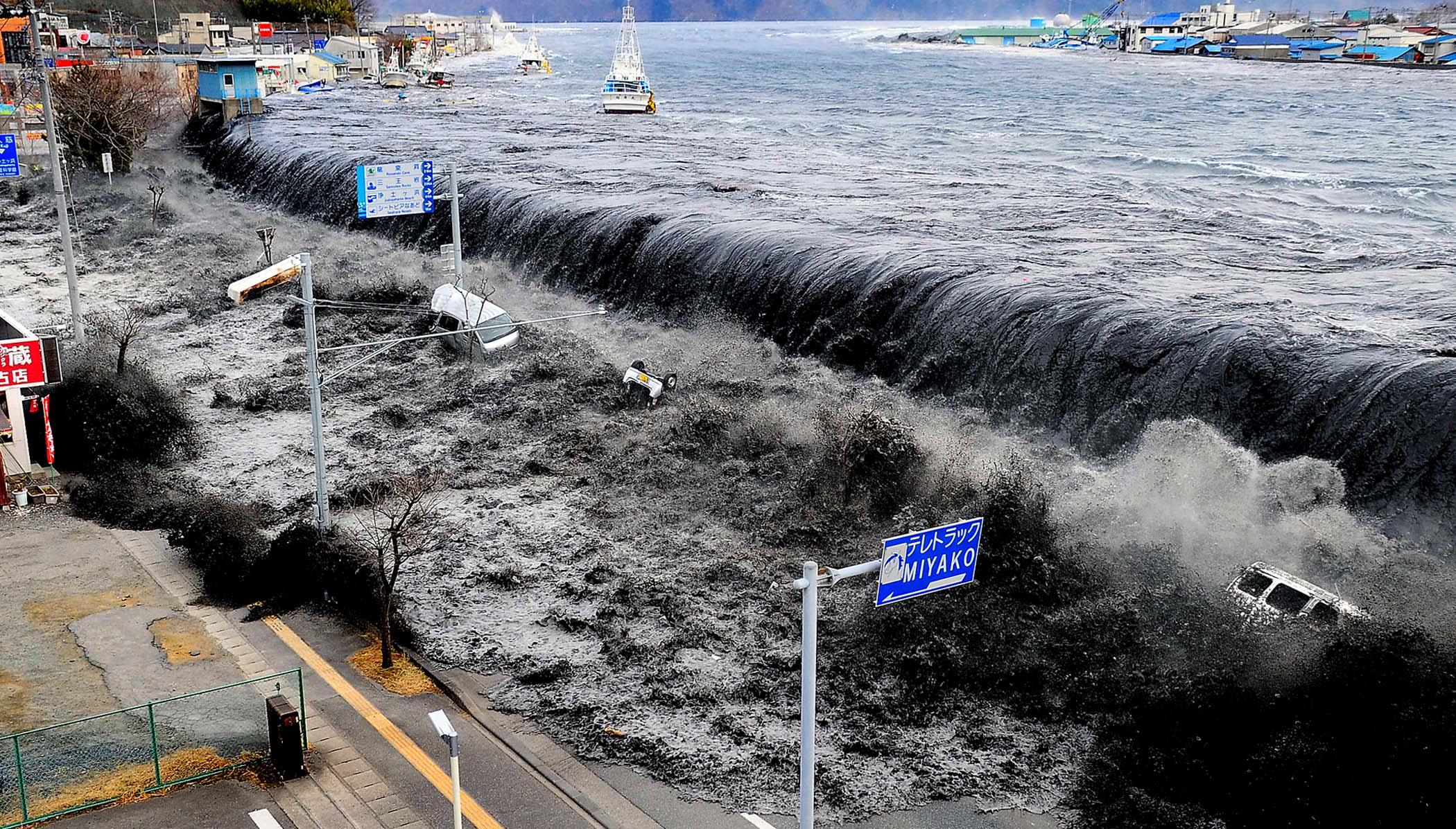 3 - 2011 Japan Tsunami initial wave