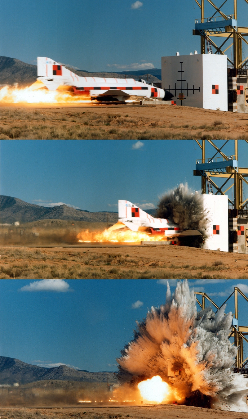 18 - Crash test of an F-4 Phantom