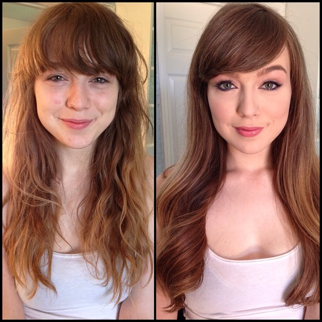 29 Pornstars Before And After Makeup Pop Culture Gallery Ebaums - Fox-makeup
