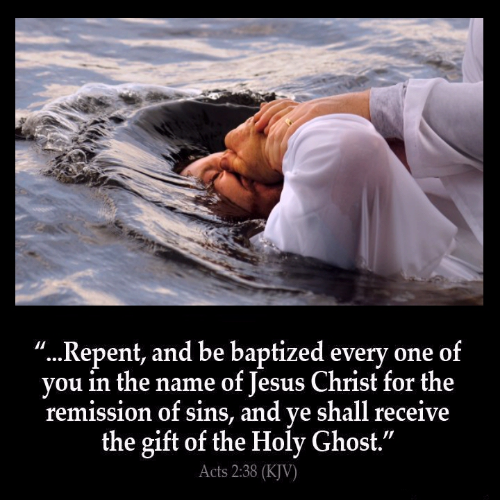 Get Baptized in Jesus Name - Picture | eBaum's World