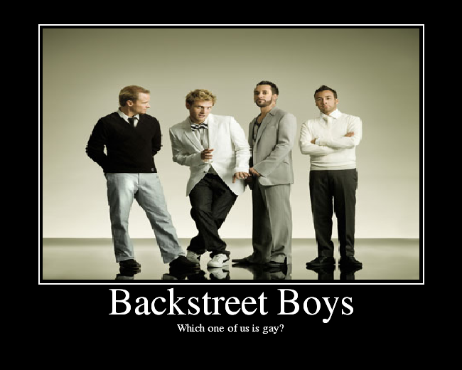from Canaan wich back street boy is gay