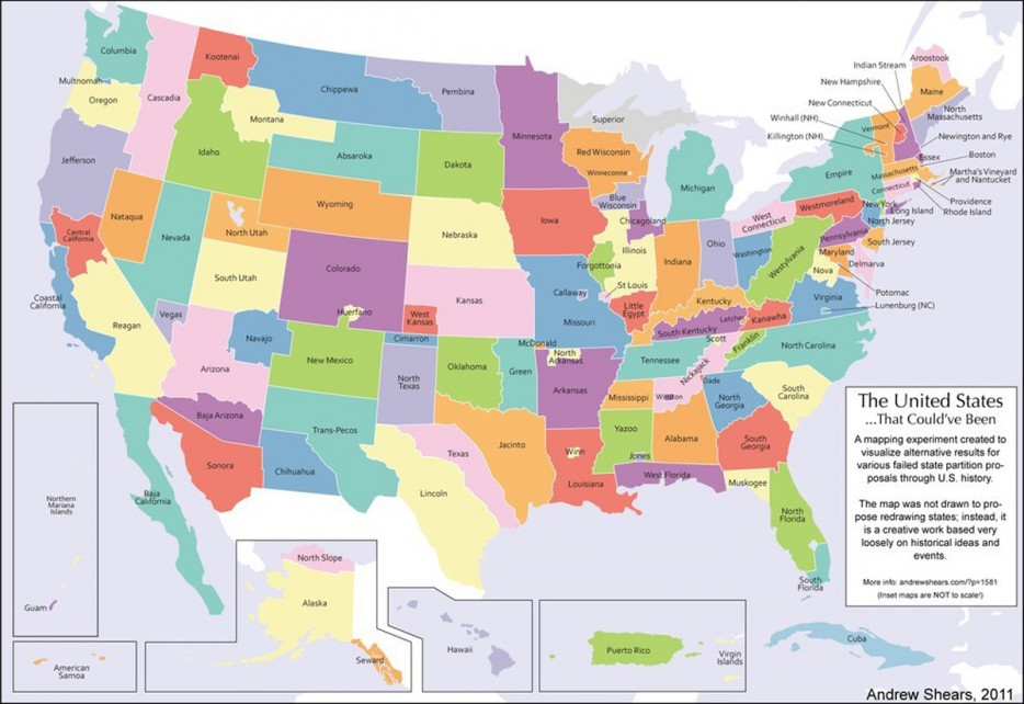 6 How The United States Would Look Today If Every Attempt To Secede From The