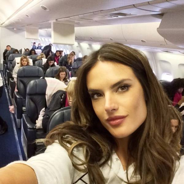 3 - Airplane Full Of Victoria Secret Models.