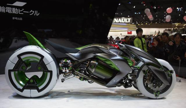 20 - The Kawasaki J Concept Motorcycle