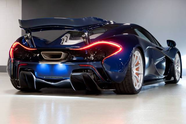 26 - McLaren P1 from behind