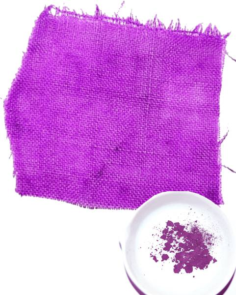 28 - Tyrian Purple, the most expensive dye in the world currently worth close to $100,000 an ounce.