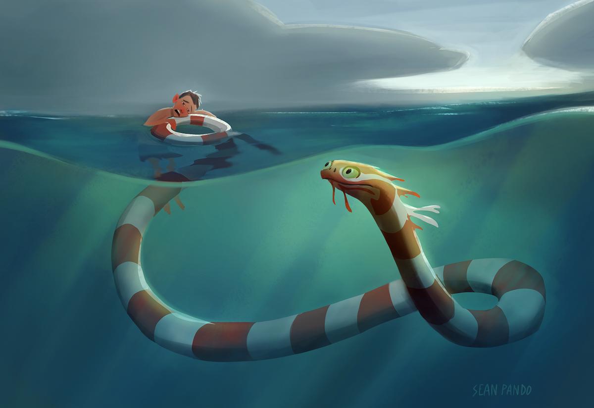 sea monsters creepy gallery ebaum s world