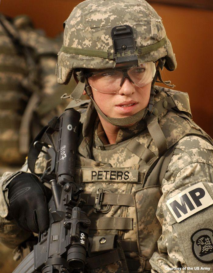 Hot us military women