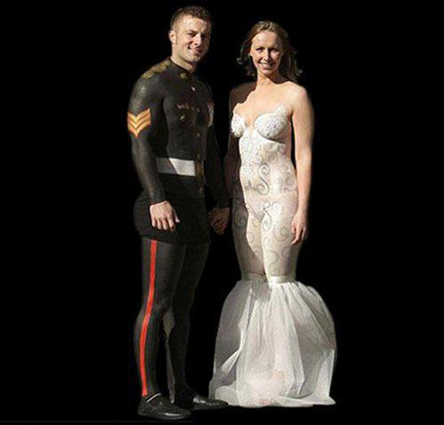 God Awful Wedding Dresses That Will Make You Go WTF