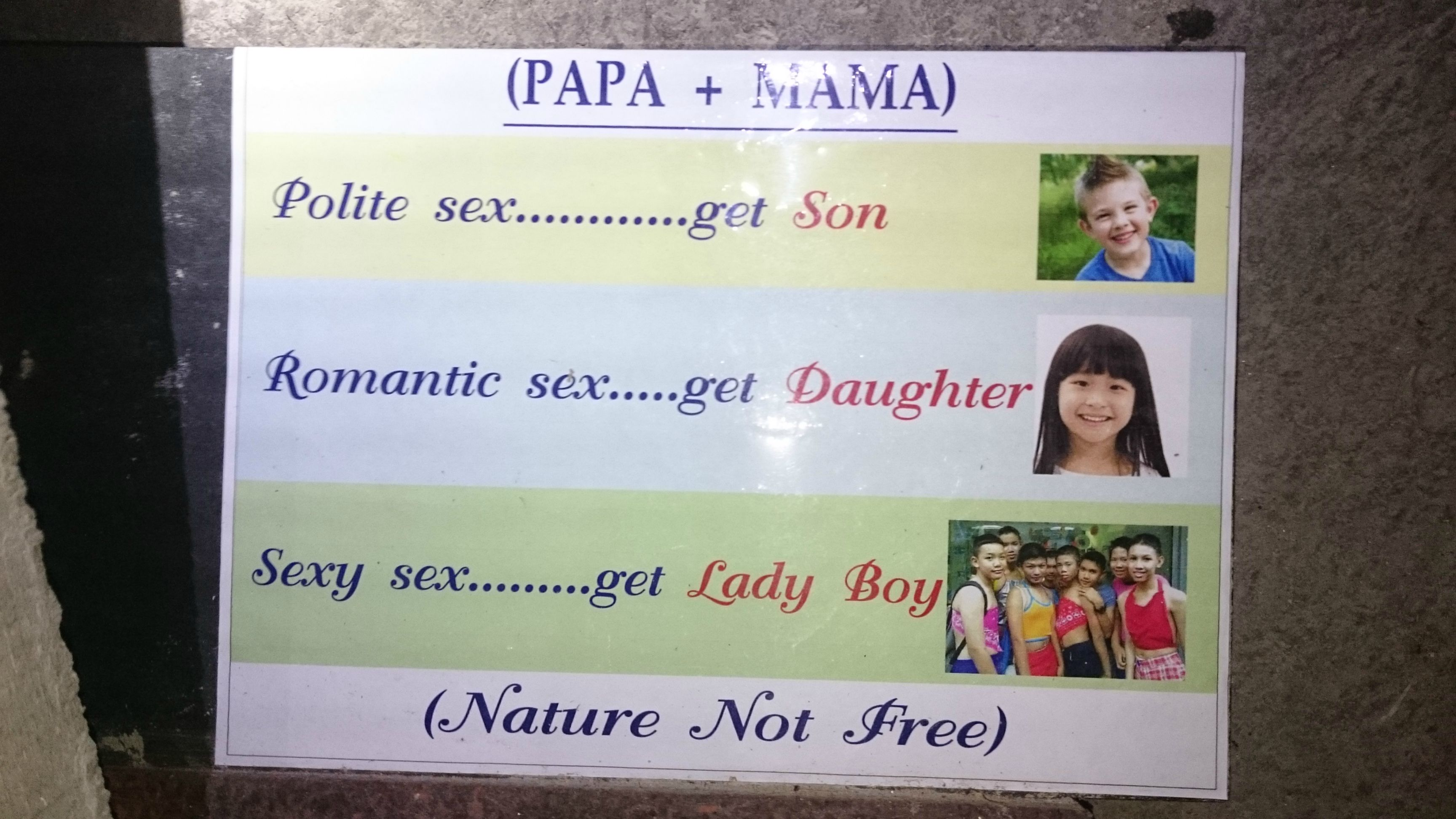 3 - Family planning in Thailand.