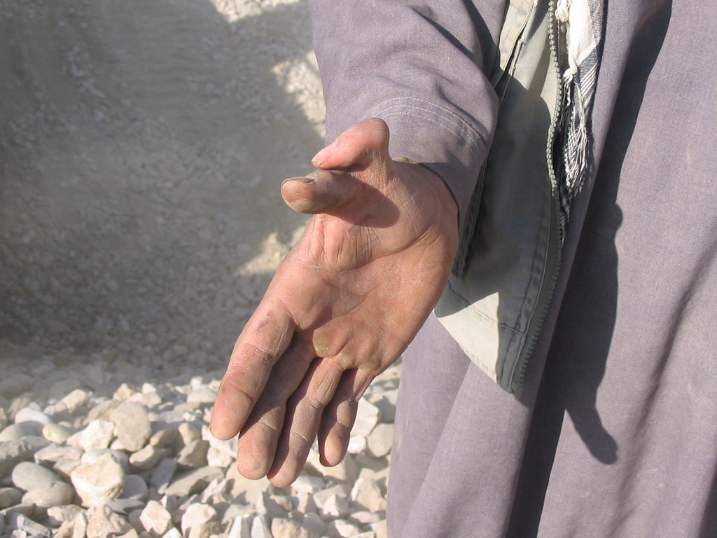 24 - Meet this guy in Afghanistan. He gave us two thumbs up.