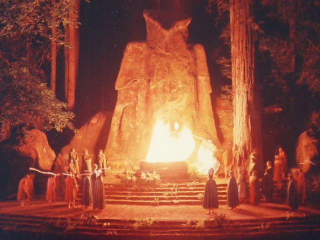 1 - 13 Photos From The Secret Bohemian Grove Meetings