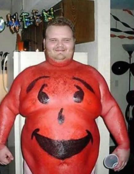 1 -  Crazy Kool-Aid Fat ...  sc 1 st  eBaumu0027s World & 10 F*cked up Halloween Costumes - Gallery | eBaumu0027s World