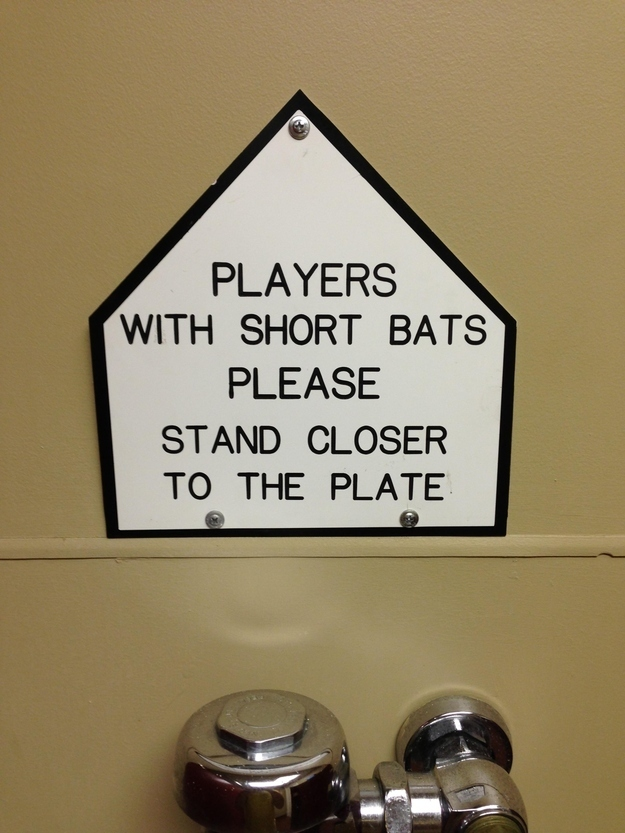 Bathroom Signs Joke 35 hysterical public restroom signs - funny gallery | ebaum's world