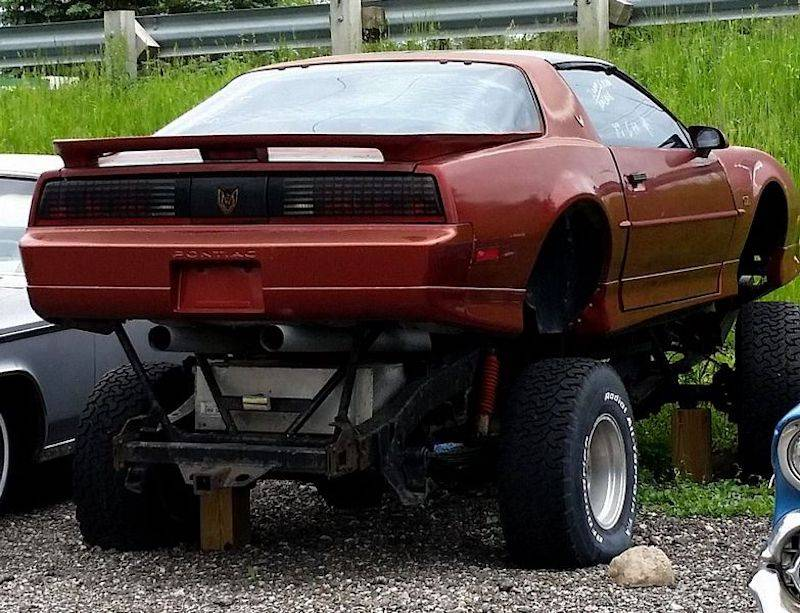 23 - Trans-AM with lift kit and large tires