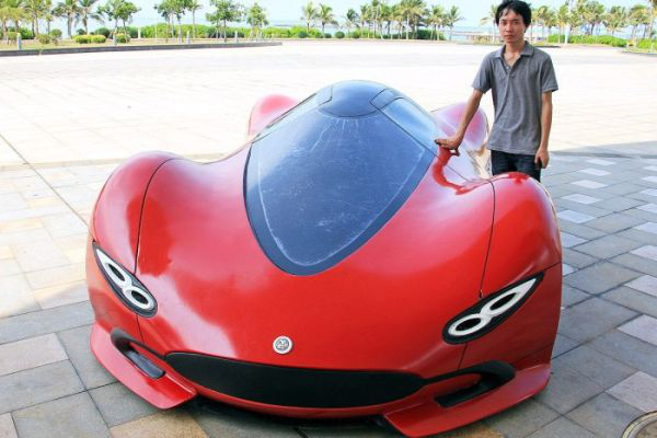 3 - 27 Year Old Builds A Homemade Super Car