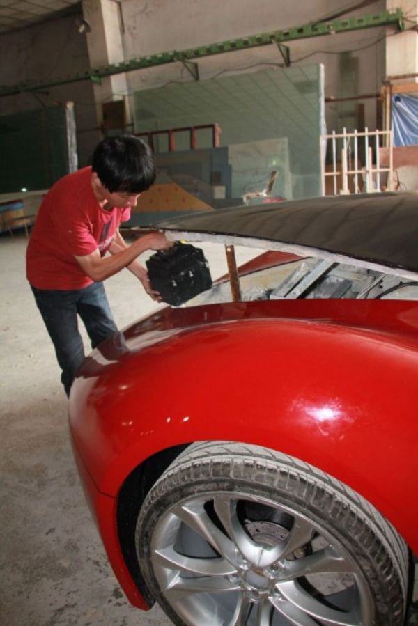 8 - 27 Year Old Builds A Homemade Super Car