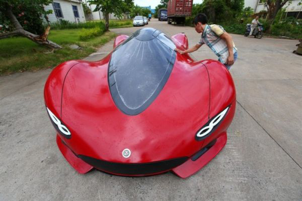 12 - 27 Year Old Builds A Homemade Super Car