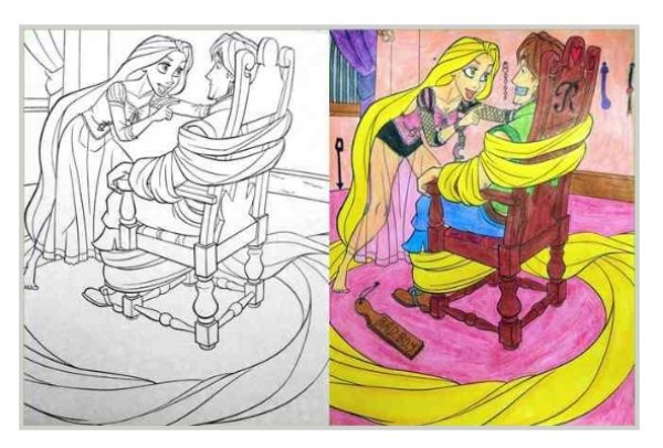 24 Coloring Books Made Instantly NSFW - Gallery | eBaum\'s World