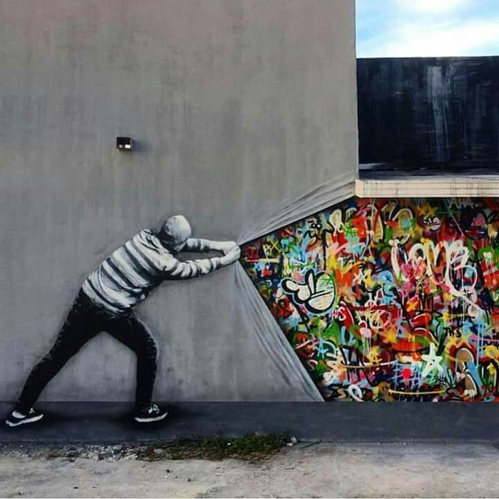 1 - 18 Examples Of Awesome Street Art